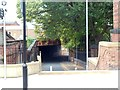SE3220 : Underpass at the rear of Westgate station, Wakefield by Bill Henderson