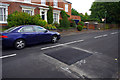 SP0583 : Speed cushion on Oakfield Road, Selly Park by Phil Champion
