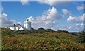 TG2341 : Cromer lighthouse by Jim Osley