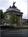 TQ2879 : Wellington Arch, Duke of Wellington Place SW1 by Robin Sones