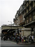 TQ2879 : London Victoria Railway Station, Terminus Place SW1 by Robin Sones