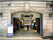 TQ2879 : Entrance to London Victoria Station, Terminus Place SW1 by Robin Sones