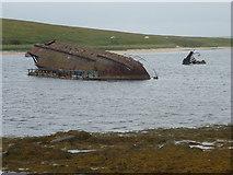 ND4798 : Burray: blockship in Weddell Sound by Chris Downer