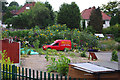 SP0382 : Allotments near Aston Webb Boulevard by Phil Champion