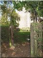 TQ3655 : St Paul's church, Woldingham: gateway by Stephen Craven