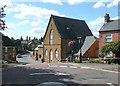 SP7866 : The Village Theatre, Moulton by Humphrey Bolton