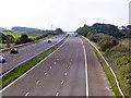 SD3934 : M55 Motorway by David Dixon