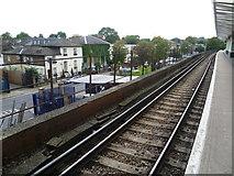 TQ3476 : Blenheim Grove from Peckham Rye station by Marathon