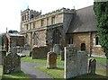 SP8366 : All Saints Church, Mears Ashby by Humphrey Bolton