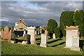 NX6248 : Borgue Parish Churchyard by Walter Baxter