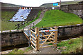 SD9332 : Bridge across the spillway at Widdop Reservoir by Phil Champion