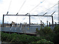 TQ2671 : Cables entering Wimbledon substation by Stephen Craven