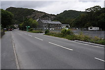 SH5639 : Church Street, Tremadog by Philip Halling