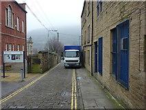 SE0925 : Pavement parking on Blackledge, Halifax by Phil Champion