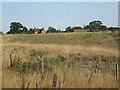 SP2380 : Park Farm beyond quarry bunds  by Robin Stott