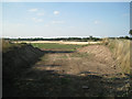 SP2380 : Corner of a sand and gravel quarry  by Robin Stott