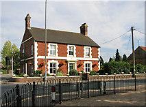 TF6830 : Carstone-built cottage, Dersingham by Evelyn Simak