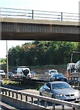 TQ5885 : B1421 bridge, M25 by N Chadwick