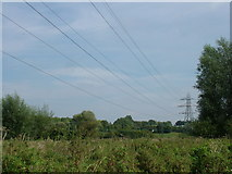 TL8663 : View from No Man's Meadow towards Rougham Hill by John Goldsmith