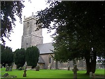 ST6149 : Holy Trinity, Binegar by Geoff Pick