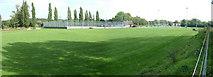 TL8663 : Rugby Club by John Goldsmith