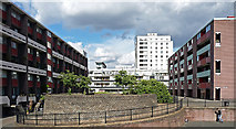 TQ3282 : Golden Lane Estate, Goswell Road (3) by Stephen Richards