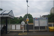 TQ2077 : Information point, Chiswick Station by N Chadwick