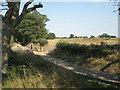 SP2280 : Haul road crosses Mercote Hall Lane  by Robin Stott