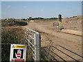 SP2280 : Haul road through Berkswell Quarry  by Robin Stott