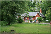 TQ1660 : d'Abernon Chase Lodge by Hugh Craddock