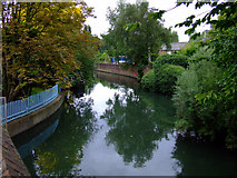 TQ1579 : The River Brent by Thomas Nugent