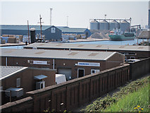 TQ2604 : Warehouses by Basin Road North by Oast House Archive