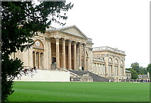 SP6737 : Stowe House, south facade by Graham Horn