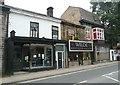 SD9324 : Shops, Burnley Road, Todmorden by Humphrey Bolton