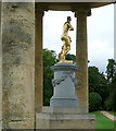 SP6737 : Stowe Park, the rotondo by Graham Horn