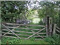 SE8664 : Closed off bridge over dismantled railway by Pauline E