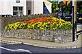 S5155 : Flowerbed at junction of Maudlin Street and Dublin Road, Kilkenny by P L Chadwick