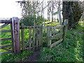 NU2416 : Kissing gate near Longhoughton by Maigheach-gheal