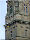 NS2776 : Steeplejack on the Victoria Tower by Thomas Nugent