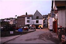 SW9980 : Fore Street in Port Isaac by Steve Daniels
