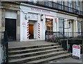 NT2674 : Victoria Barbers, Haddington Place by kim traynor
