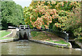SJ8835 : Meaford Bottom Lock, Staffordshire by Roger  Kidd