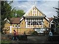 SP2479 : Berkswell village hall, Meriden Road  by Robin Stott