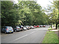 SP2479 : Parking for the village hall, Meriden Road  by Robin Stott