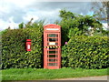 NN9919 : Post and telephone box at Clathy by Dave Fergusson