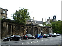 NT2674 : Wall of the Old Calton Burying Ground, Waterloo Place by kim traynor