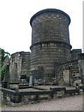 NT2674 : Tomb of Hume, Old Calton by kim traynor