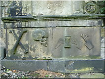 NT2674 : Symbols of Death, Old Calton Burying Ground by kim traynor