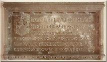 TG0135 : St Mary, Gunthorpe - Wall monument by John Salmon
