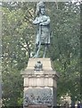 NT2573 : Black Watch Memorial, The Mound by kim traynor